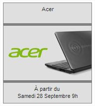 vente privee pc portable acer