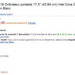Vente éclair sur Amazon pour un PC Toshiba pas cher!