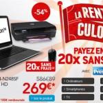 Un PC portable HP et une imprimante pour moins de 270€!